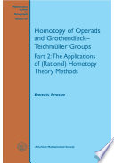 Homotopy of Operads and Grothendieck Teichmuller Groups