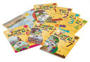 Jolly Phonics Activity Books 1 7  in Print Letters