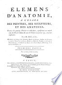 L Mens D Anatomie L Usage Des Peintres Etc With Plates