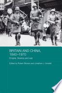 Britain and China  1840 1970