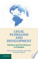 Legal Pluralism and Development
