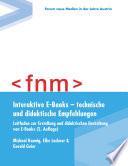 Interaktive E Books     technische und didaktische Empfehlungen  Leitfaden zur Erstellung und didaktischen Gestaltung von E Books