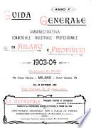 Guida generale di Milano e provincia