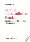 Familie und staatliches Handeln