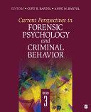 Current Perspectives in Forensic Psychology and Criminal Behavior