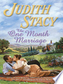 The One Month Marriage Book PDF
