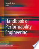 Handbook of Performability Engineering