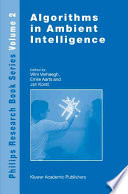 Algorithms in Ambient Intelligence
