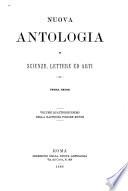 Nuova antologia
