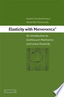 Elasticity with Mathematica