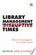 Library Management in Disruptive Times