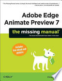Adobe Edge Animate Preview 7  The Missing Manual