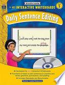 Interactive Learning  Daily Sentence Editing  Grade 5