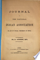 Journal of the National Indian Association in Aid of Social Progress in India Book PDF