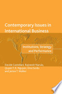 Contemporary Issues in International Business