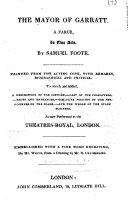 download ebook the mayor of garratt. a farce, in two acts, etc pdf epub