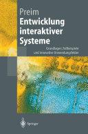 Entwicklung interaktiver Systeme