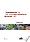 Optimization In Civil Environmental Engineering