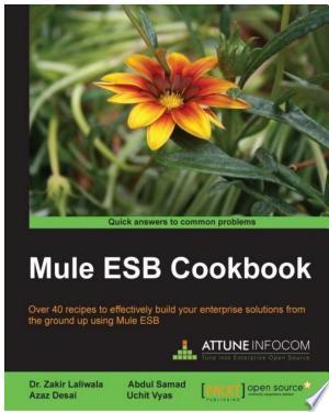 Mule Esb Cookbook - ISBN:9781782164418