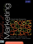 Principles Of Marketing  A South Asian Perspective  13 E
