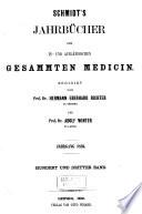 Schmidt s Jahrb  cher der in  und ausl  ndischen gesammten Medicin