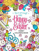 Easter Rabbit Coloring Book