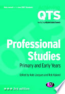 Professional Studies  Primary and Early Years