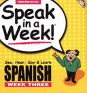 Speak in a Week Spanish