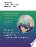 Human Development Report 2001