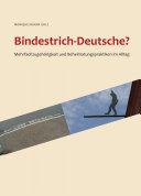 Bindestrich-Deutsche?