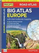 Philip s Big Road Atlas Europe 2017
