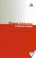Chinese Arbitration
