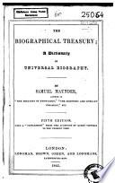 The Biographical Treasury Book PDF
