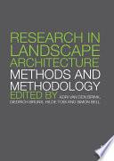 Research in Landscape Architecture