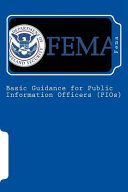 Basic Guidance for Public Information Officers
