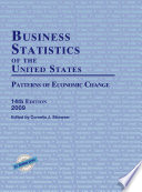 Business Statistics of the United States 2009