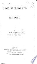 Joe Wilson s Ghost  etc