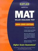 Kaplan Miller Analogies Test