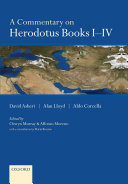 A Commentary on Herodotus Prose Authors Set Out In