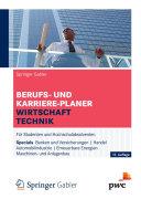 Berufs- und Karriere-Planer Wirtschaft | Technik