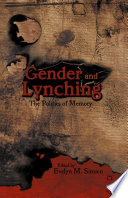 Gender And Lynching book