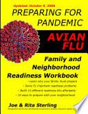 Preparing for Pandemic Avian Flu   Family   Neighborhood Readiness Workbook