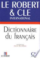 Dictionnaire du français langue étrangère CLE - Le Robert