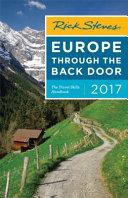 Rick Steves Europe Through The Back Door 2017 book