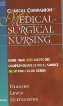 Clinical Companion To Medical Surgical Nursing