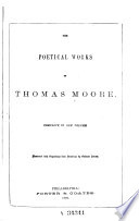 The Poetical Works of Thomas Moore