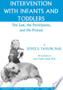 Intervention with Infants and Toddlers