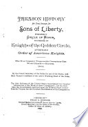 Treason History of the Order of Sons of Liberty Book PDF