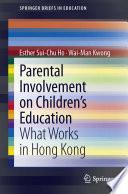 Parental Involvement on Children   s Education