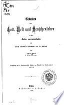 Programm der k. Studien- Anstalt Passau